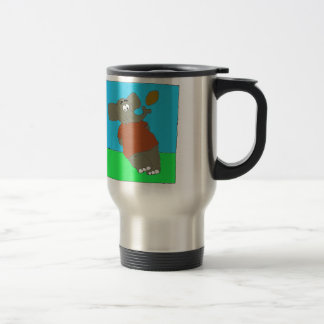 Elephant Touch By A Nose 15 Oz Stainless Steel Travel Mug