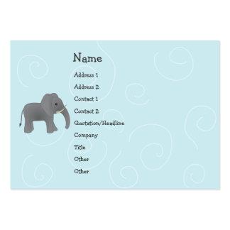 Elephant  Toy Large Business Card
