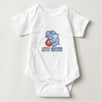 Elephant Toy Little Brother Baby Bodysuit