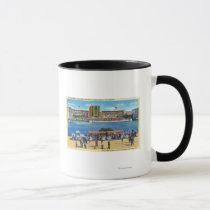 Elephant Train and Federal Bldg, CA Worlds Fair Mug