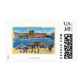 Elephant Train and Federal Bldg, CA Worlds Fair Postage
