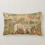 Elephant Trainer Pillow