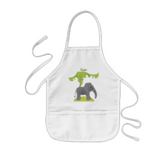 Elephant Tree Kids' Apron
