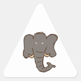 Elephant Triangle Sticker