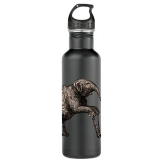 Elephant Tricks - Funny Circus Pachyderm Water Bottle