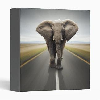 Elephant Trucker Binder