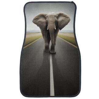 Elephant Trucker Front Car Mat