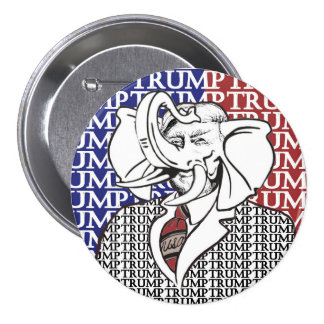 Elephant Trump Button