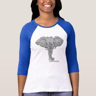 elephant trumpet T-Shirt