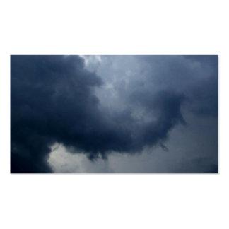 Elephant Trunk Storm Cloud Business Card Template