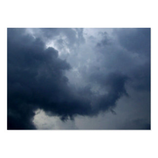 Elephant Trunk Storm Cloud Business Cards