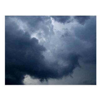 Elephant Trunk Storm Cloud Postcard