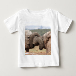elephant trunks tied up baby T-Shirt