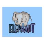 Elephant Tshirts and Gifts Postcard