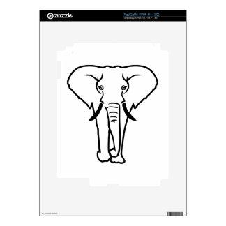 Elephant tusk iPad 2 decal