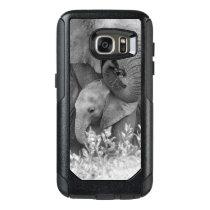 Elephant & Two Calves   Samburu OtterBox Samsung Galaxy S7 Case
