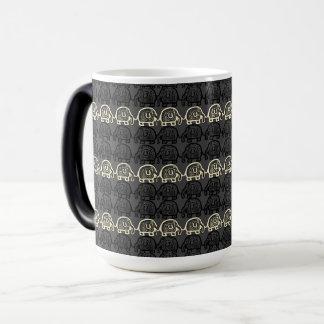 Elephant Unity Grey Stone Morphing Mug