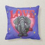 Elephant Valentine's Day Pillows