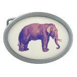 Elephant Vintage Illustration India Animal Antique Belt Buckle