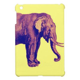 Elephant Vintage Illustration India Animal Antique Case For The iPad Mini