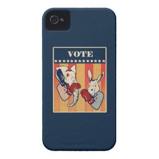 Elephant vs. Donkey Case-Mate iPhone 4 Case