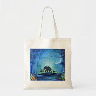 Elephant Walk Budget Tote Bag