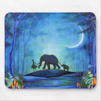 Elephant Walk Mouse Pad