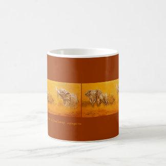 'Elephant Walk' - mug