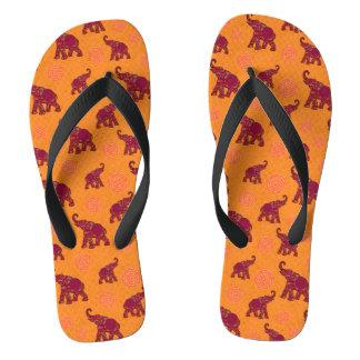 Elephant Walk Pattern + your backgr. & ideas Flip Flops
