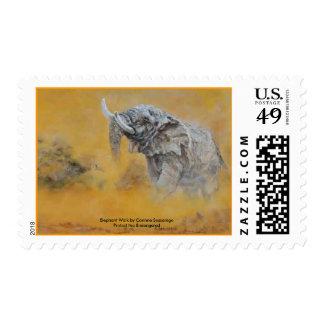 'Elephant Walk'  postage
