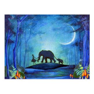Elephant Walk Postcard