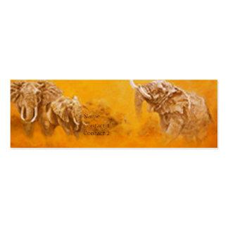 'Elephant Walk'  - Profile Card