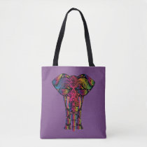 Elephant Walk Tote Bag
