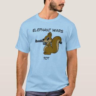 Elephant Wars Short Sleeve Shirt - Tot