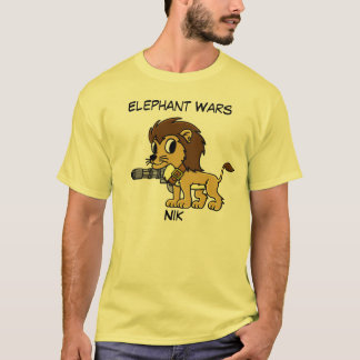 Elephant Wars Short Sleeved Shirt - Nik