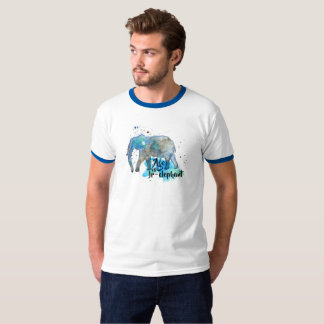 Elephant Water Color T-Shirt