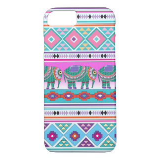 Elephant with Aztec Pattern iPhone 7 Case