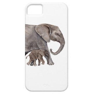 Elephant with Baby Elephant iPhone SE/5/5s Case