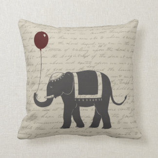 Elephant with Balloon Pillow