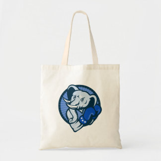 Elephant With Boxing Gloves Democrat Mascot Bag