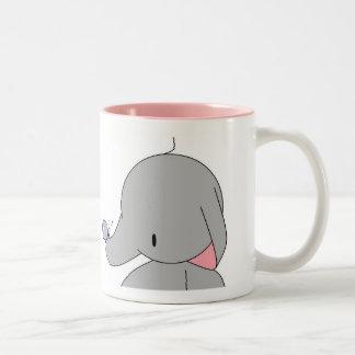 elephant with butterfly mug