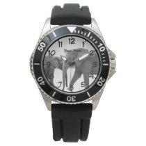 elephant wrist watch