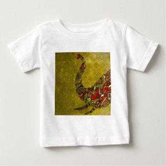 Elephant Zenscrawl Baby T-Shirt