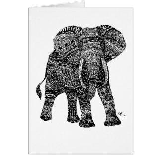 Elephantastic Notecards Tarjeta Pequeña