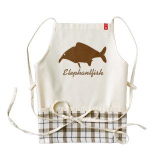 Elephantfish Zazzle HEART Apron