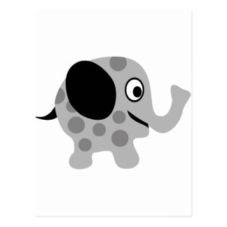 ElephantILoveP3 Postcard