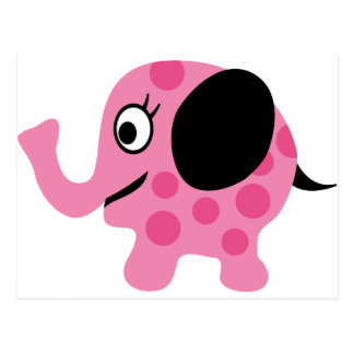 ElephantILoveP4 Postcard