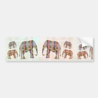 Elephantine Mountain Car Bumper Sticker