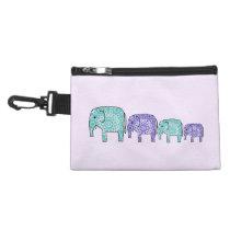 Elephants Accessory Bag