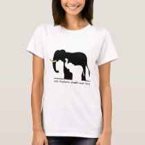 Elephants and Ivory (white) T-Shirt
